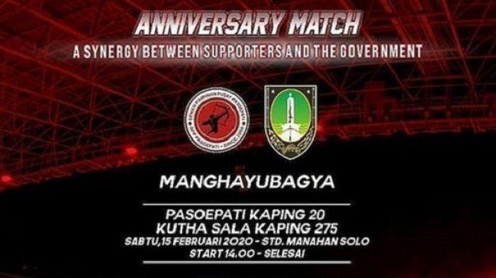 Izin dari Menteri PUPR Turun, Laga Persis Solo vs Persib Bandung Tetap Digelar di Stadion Manahan