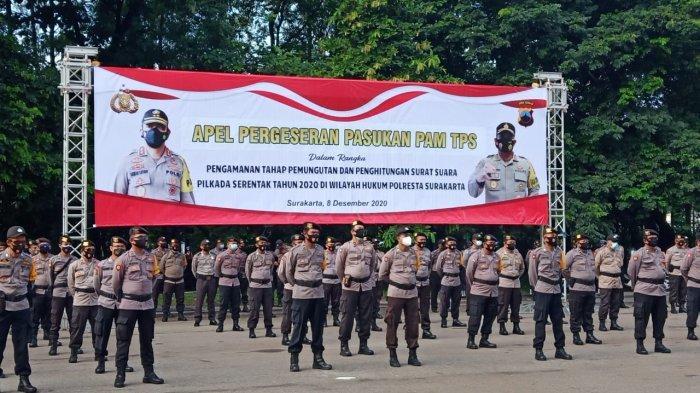 Polisi yang Jaga di TPS Solo Akan Jadi Duta Protokol Kesehatan Covid-19, Apa Saja Tugasnya?