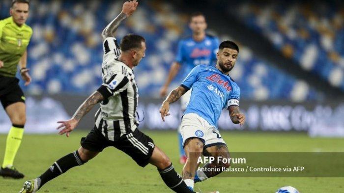Pertandingan Napoli vs Juventus Serie A