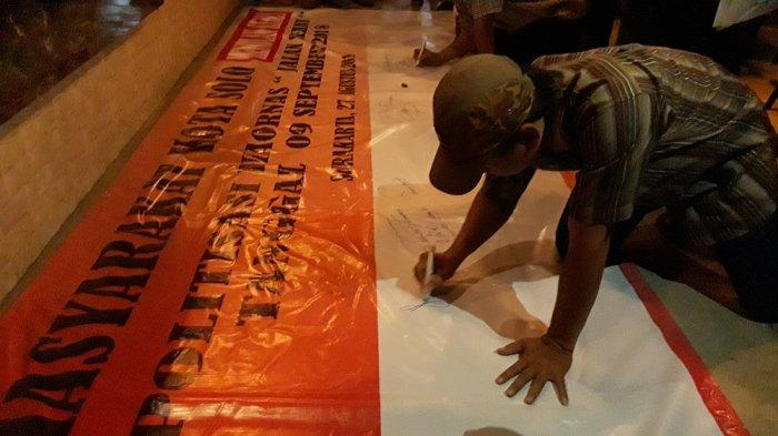 Forum Masyarakat Cinta Surakarta Dukung Jalan Sehat Asal Tak Ada Muatan Politis