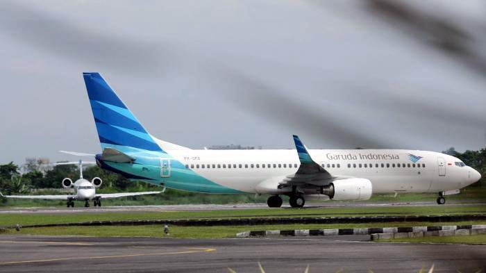 Buntut Insiden Pesawat Tergelincir, Rute Garuda Jakarta-Yogyakarta Dibekukan Sementara