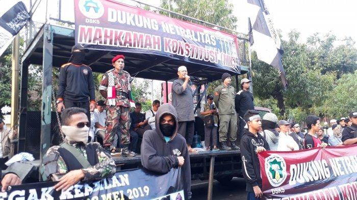 Sidang Perdana MK, Sejumlah Elemen di Solo Gelar Aksi Tuntut MK Jaga Netralitas