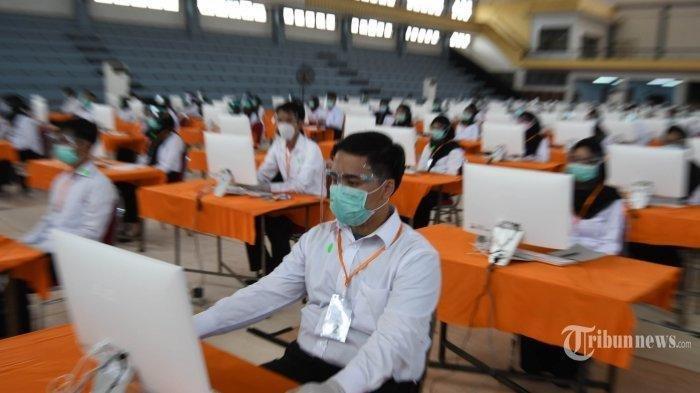 Simak Tata Tertib Pelaksanaan Ujian SKD CPNS Solo 2021, Wajib Pakai Masker Dobel dan Swab Antigen