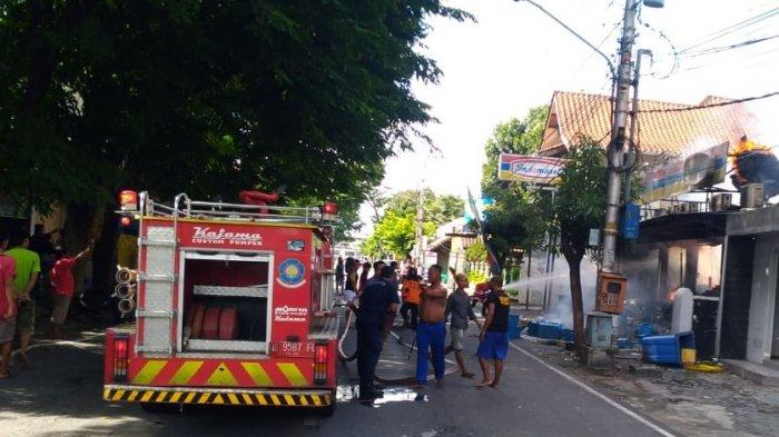 Kebakaran Indomaret Laweyan Solo Diduga Disebabkan AC Meledak