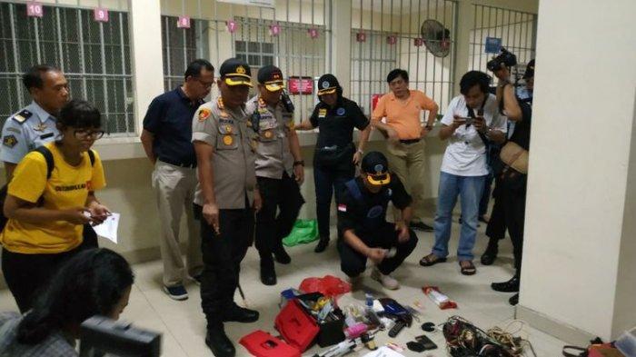 Razia di Lapas Kerobokan Denpasar, Petugas Temukan Alat Konsumsi Narkoba