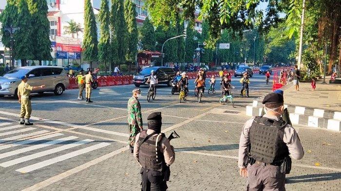 Gowes Tapi Abai Protokol Kesehatan, 300 Pesepeda Terjaring Razia di Solo,Mau Tahu Hukumannya Apa?
