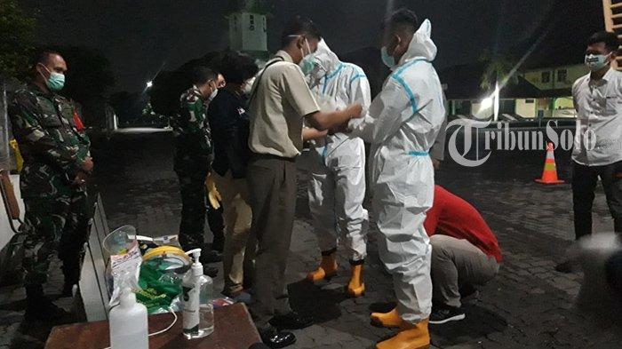 Gelombang pertama, pasien Covid-19 asal Kudus dirujuk ke Asrama Haji Donohudan, Ngemplak, Boyolali