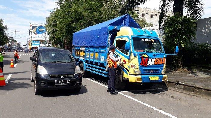 Banyak Bus yang Langgar Trayek Masuk Kota, Dishub dan Satlantas Solo Gelar Operasi Gabungan