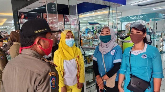 Terjaring Operasi Masker di Sukoharjo, SPG Ini Sebut Lagi Apes: Tadi Pas Nurunin Masker