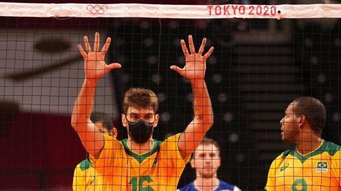 Kisah Pevoli Brasil Selalu Pakai Masker di Laga Olimpiade, Terungkap Cerita Menyentuh di Baliknya