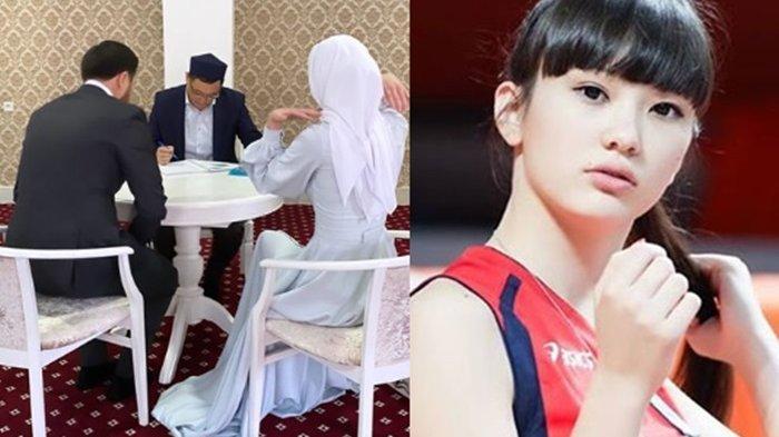 Pemain Voli Cantik yang Sempat Viral, Sabina Altynbekova Putuskan Nikah Muda, Sosok Suaminya Disorot
