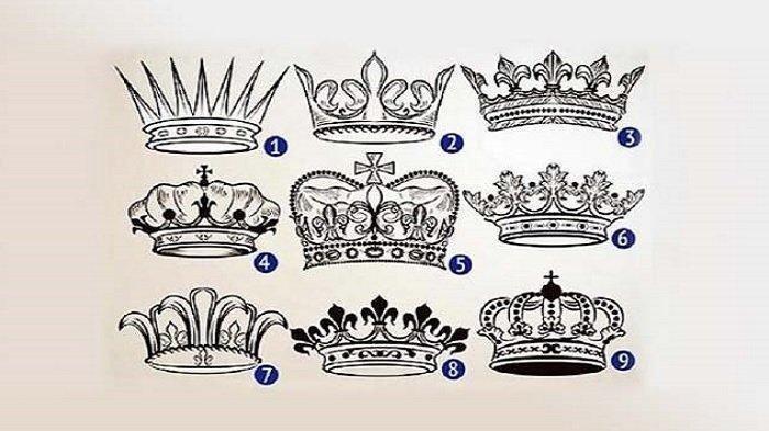Tes Kepribadian - Mana Mahkota yang Paling Menarik Menurutmu? Hasilnya Ungkap Karaktermu Sebenarnya