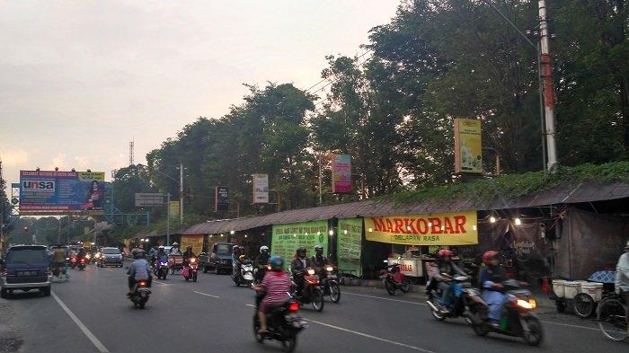 Flyover Manahan akan Beroperasi, Pedagang Kaki Lima Digeser ke Selatan Lapangan Kottabarat