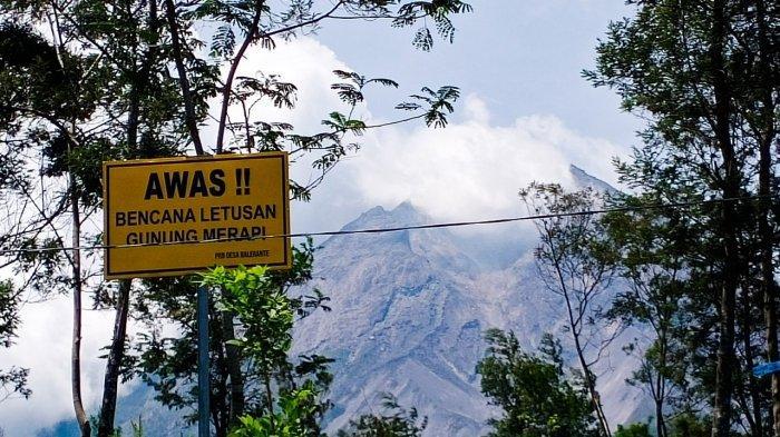 Update Gunung Merapi 12 Desember 2020: Terjadi 6 Kali Guguran, Kawah Putih Tertutup Hujan