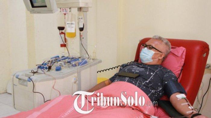 Keterbatasan Alat, PMI Boyolali Tak Bisa Ambil Plasma Kovalesen: Donor Dilakukan di PMI Solo