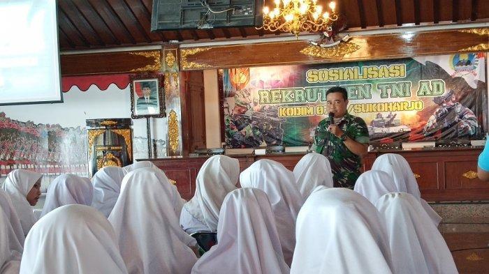 Mendaftar TNI AD 2019 Gratis, Kodim 0726/Sukoharjo: Permainan Uang Tidak Dibenarkan