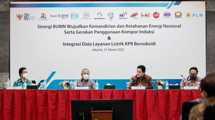 PLN Gandeng 9 BUMN Guna Wujudkan Ketahanan Energi Nasional Melalui Gerakan Penggunaan Kompor Induksi