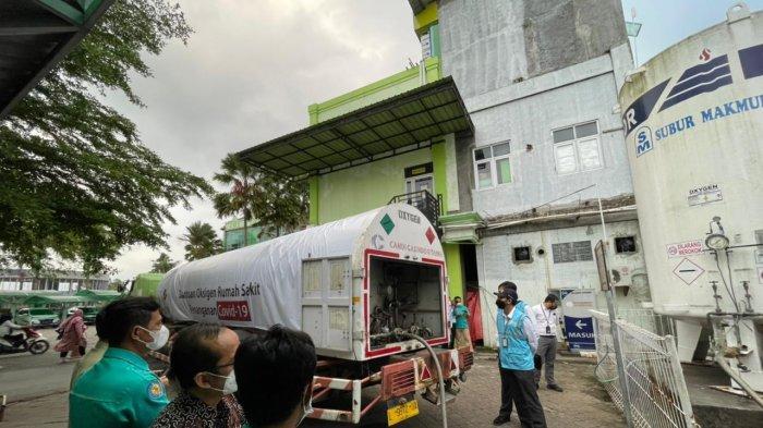 Jawab Kebutuhan RS, PLN Kembali Salurkan Bantuan 12 Ton Oksigen di Jawa Tengah