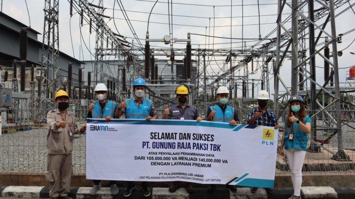 Gerakkan Ekonomi indonesia, PLN Tambahkan Daya Listrik ke PT Gunung Rajapaksi Tbk Sebesar 40 MVA