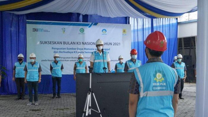 Peringati Bulan K3 Nasional, PLN Minta Karyawan Perkuat Prokotol Kesehatan