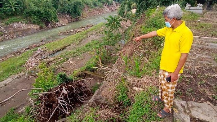 Kejadian Makam Longsor di Klodran Bukan yang Pertama, Makam Cikal Bakal Dusun Bendungan Juga Hanyut