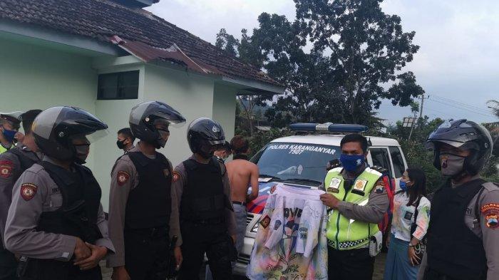 Diamankan Polisi saat Konvoi Kelulusan, 30 Siswa di Karanganyar Tertunduk Lesu, Ini Foto-fotonya