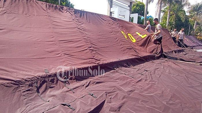 Jika Gelombang Pasien Corona Asal Kudus Memburuk, Bangsal & Tenda Disiapkan di Asrama Haji Donohudan