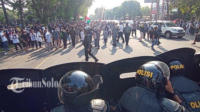 Dipanggil Polisi, Besok Korlap & Orator Aksi Solidaritas Palestina di Solo Bakal Jalani Pemeriksaan