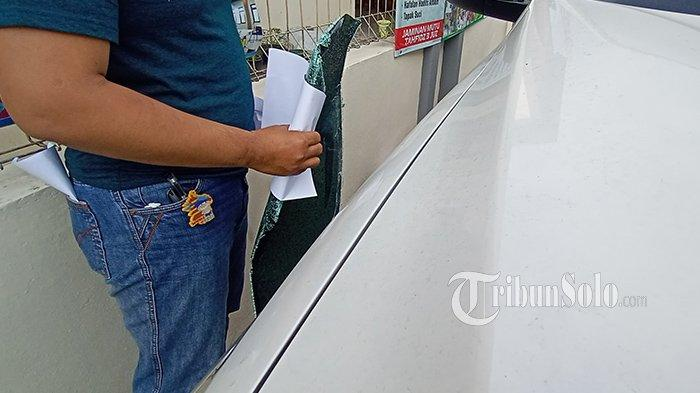 Aksi Pelaku Pecah Kaca Mobil Pajero Milik Guru MAN di Gatak Profesional, Sudah Incar Uang Rp 80 Juta