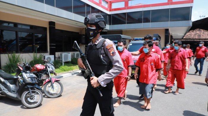 Kronologi Penangkapan 8 Orang Komplotan, Pemilik Sekaligus Jadi Kurir Sabu-sabu di Sukoharjo