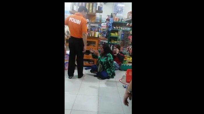 5 Fakta tentang Video Viral yang Memperlihatkan Oknum Polisi Tendang Seorang Ibu di Supermarket