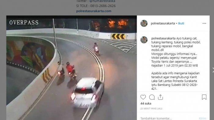 Dituduh Lindungi Pelaku Tabrak Lari Overpass Manahan Solo, Polisi : Tidak, Ini Bukan Zamannya Lagi