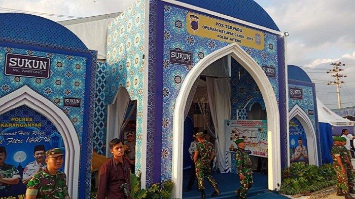 Panglima TNI Hadi Tjahjanto & Kapolri Tito Karnavian Tunda Peninjauan Jalur Mudik di Exit Tol Ngasem