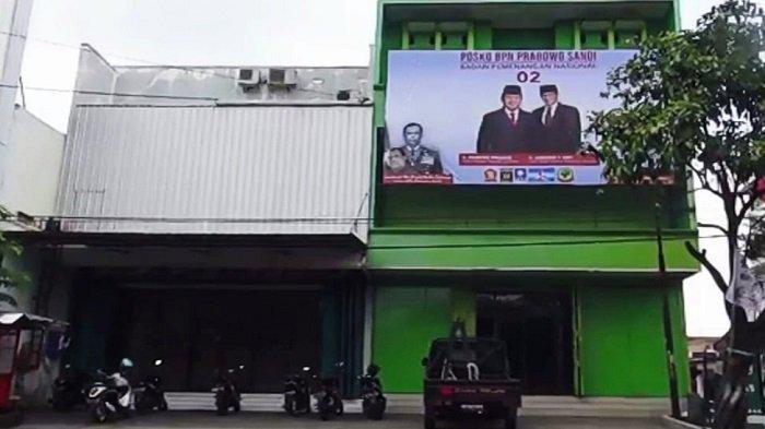 Hanya Ratusan Meter dari Kediaman Jokowi, Posko Baru BPN Prabowo-Sandi di Kelurahan Sumber Solo