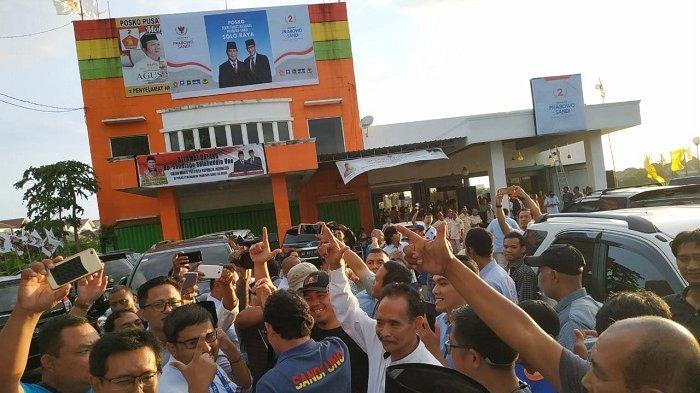 Posko Seknas Prabowo-Sandi Dekat Rumah Jokowi Akan Dipakai untuk Menggalang Massa