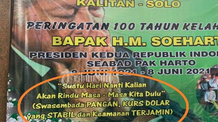 100 Tahun Soeharto, Keluarga Cendana Kirim Pesan : Kalian Rindu Dulu, Swasembada & Keamanan Terjamin