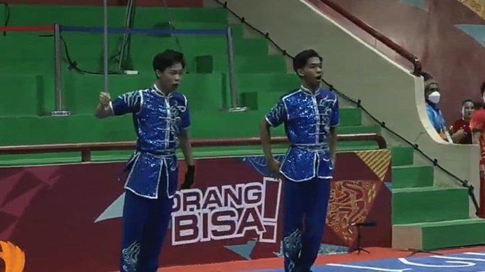 Atlet Asal Solo Sabet Medali Perak Cabang Wushu di PON XX Papua