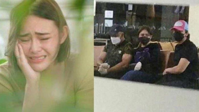Sosok Pria Bermasker Setia Temani Amanda Manopo di Pemakaman Tuai Sorotan, Ternyata Billy Syahputra