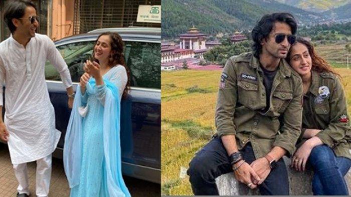 Potret Bulan Madu Shaheer Sheikh & Ruchikaa Kapoor di Bhutan, Ekspresikan Rasa Cinta Usai Menikah