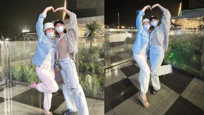 Wanita Cantik Jalan-jalan di Mall Jadi Perhatian Pengunjung, Ternyata Glenca Chysara & Amanda Manopo