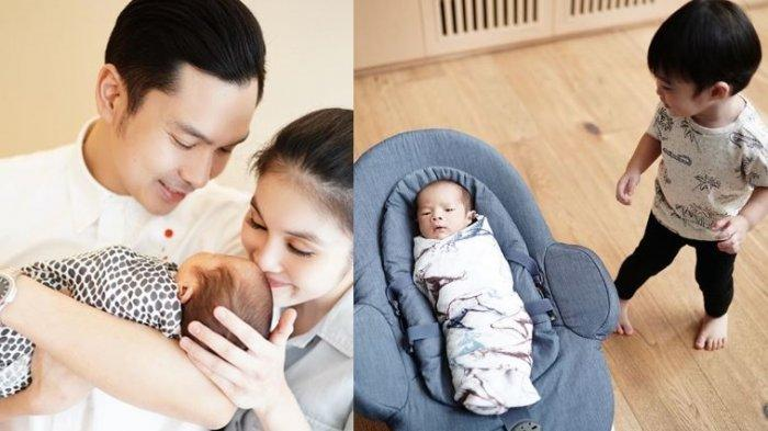 Potret harmonis keluarga Sandra Dewi dan Harvey Moeis