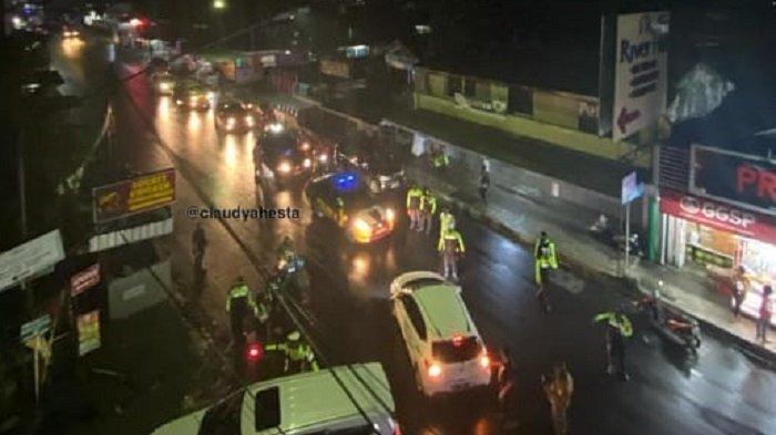 ilustrasi arus lalu lintas di tawangmangu
