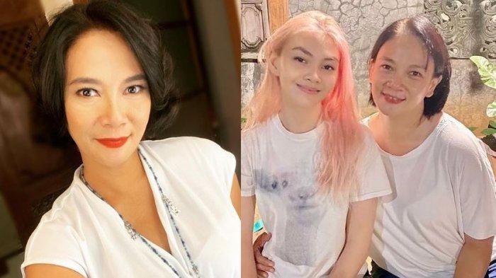 Dian Nitami Ngaku Mudanya Tak Aneh-aneh, Ungkap Kekhawatiran saat Putrinya Warnai Rambut Jadi Pink