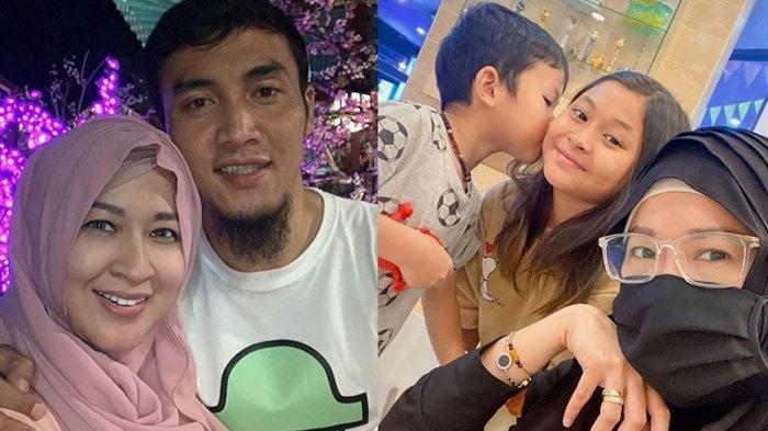 Okie Agustina Ungkap Kedekatan Dua Anaknya yang Beda Ayah Kandung: Tetap Seperti Ini Sampai Besar