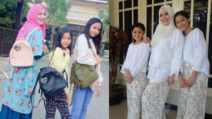 Curhat Okie Agustina Sadar Tak Selamanya Bisa Tinggal Bersama 2 Putrinya, Minta Maaf Tak Memanjakan