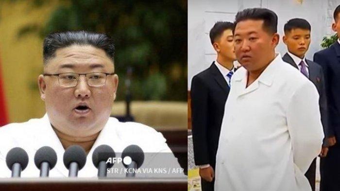 Viral Transformasi Kim Jong-un, Dulu Gempal Kini Kurus dan Tirus, Rakyat Korut Sampai Menangis