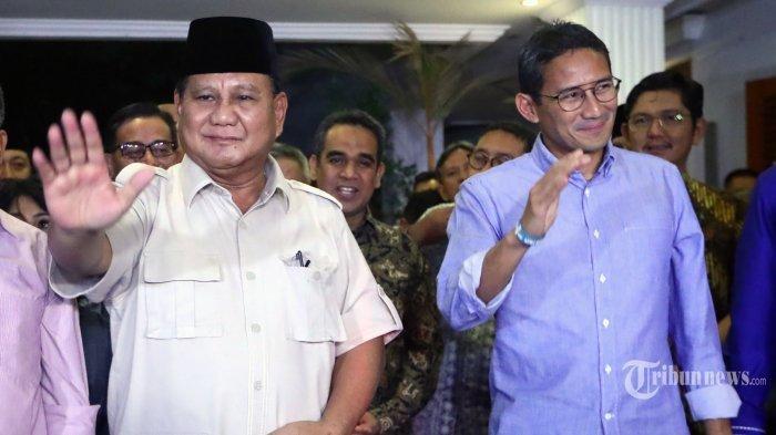 Mahkamah Agung Kembali Tolak Kasasi yang Diajukan Prabowo-Sandi