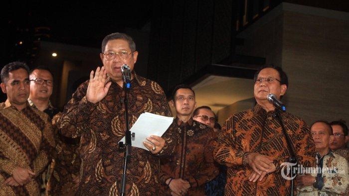 Demokrat Sebut Prabowo Tak Mau Dengar Strategi SBY: Masukan dari SBY Pasti Cespleng, 2 Kali Menang