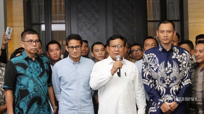 Prabowo-Sandiaga Akan Jelaskan Detail Program Strategis saat Debat Capres
