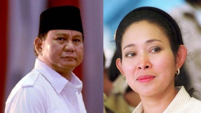Titiek Unggah Foto Lawas Bersama Prabowo, Kini Gantian Prabowo Posting Foto Lawas Bareng Titiek